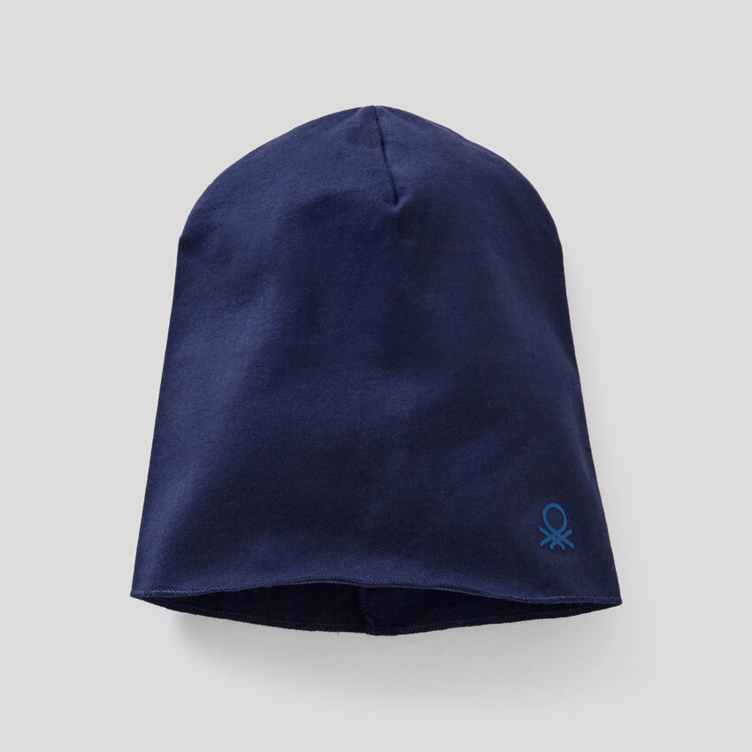 Cuffietta in jersey di cotone elasticizzato
