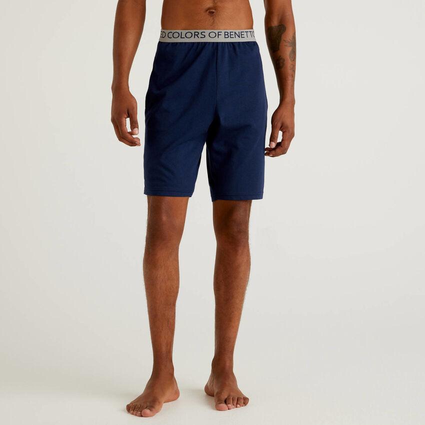 Pantaloni corti in cotone biologico