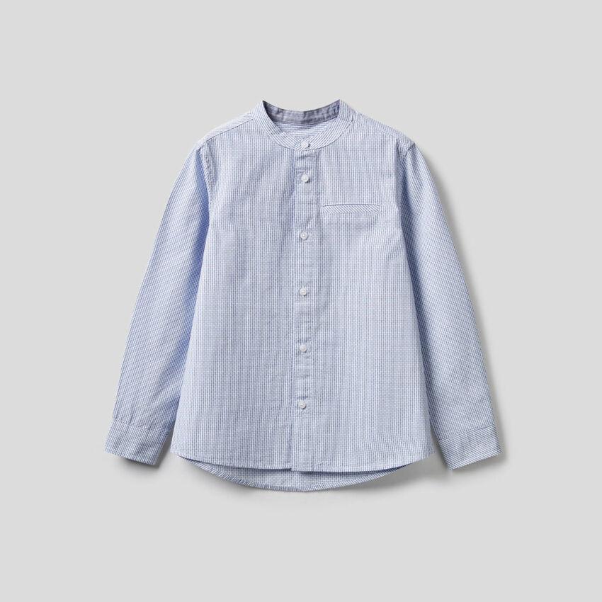Camicia coreana 100% cotone