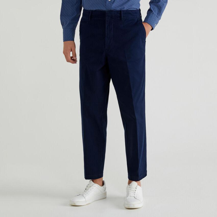 Chino in cotone stretch