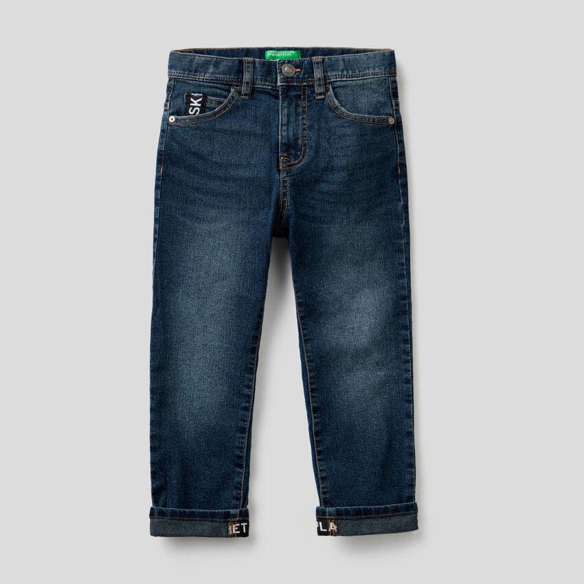 Jeans cinque tasche straight leg