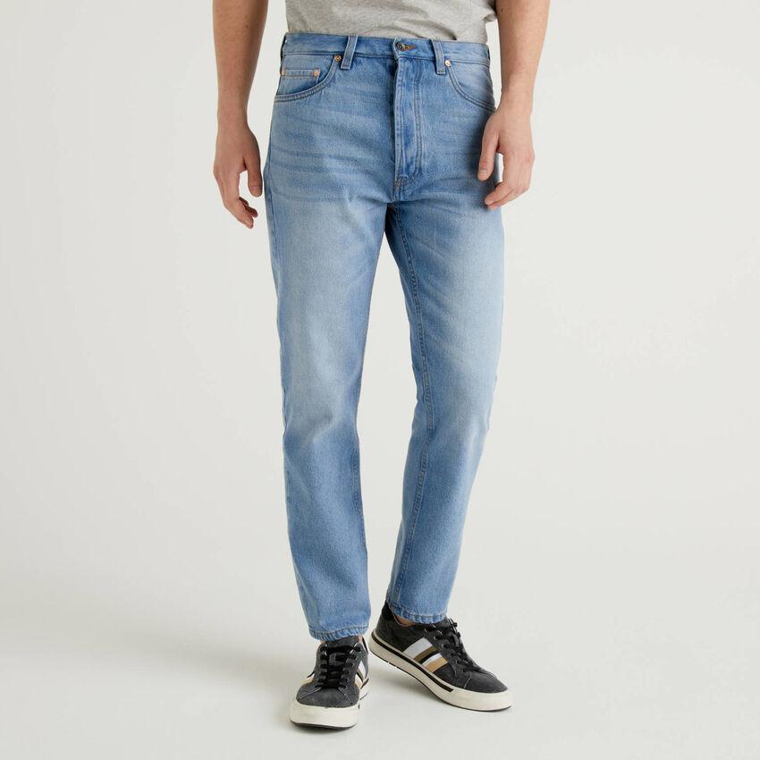 Jeans cinque tasche 100% cotone