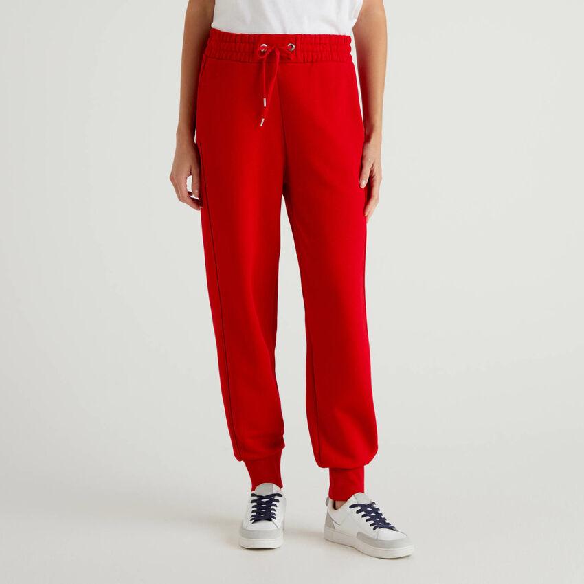 Pantaloni sportivi in felpa 100% cotone