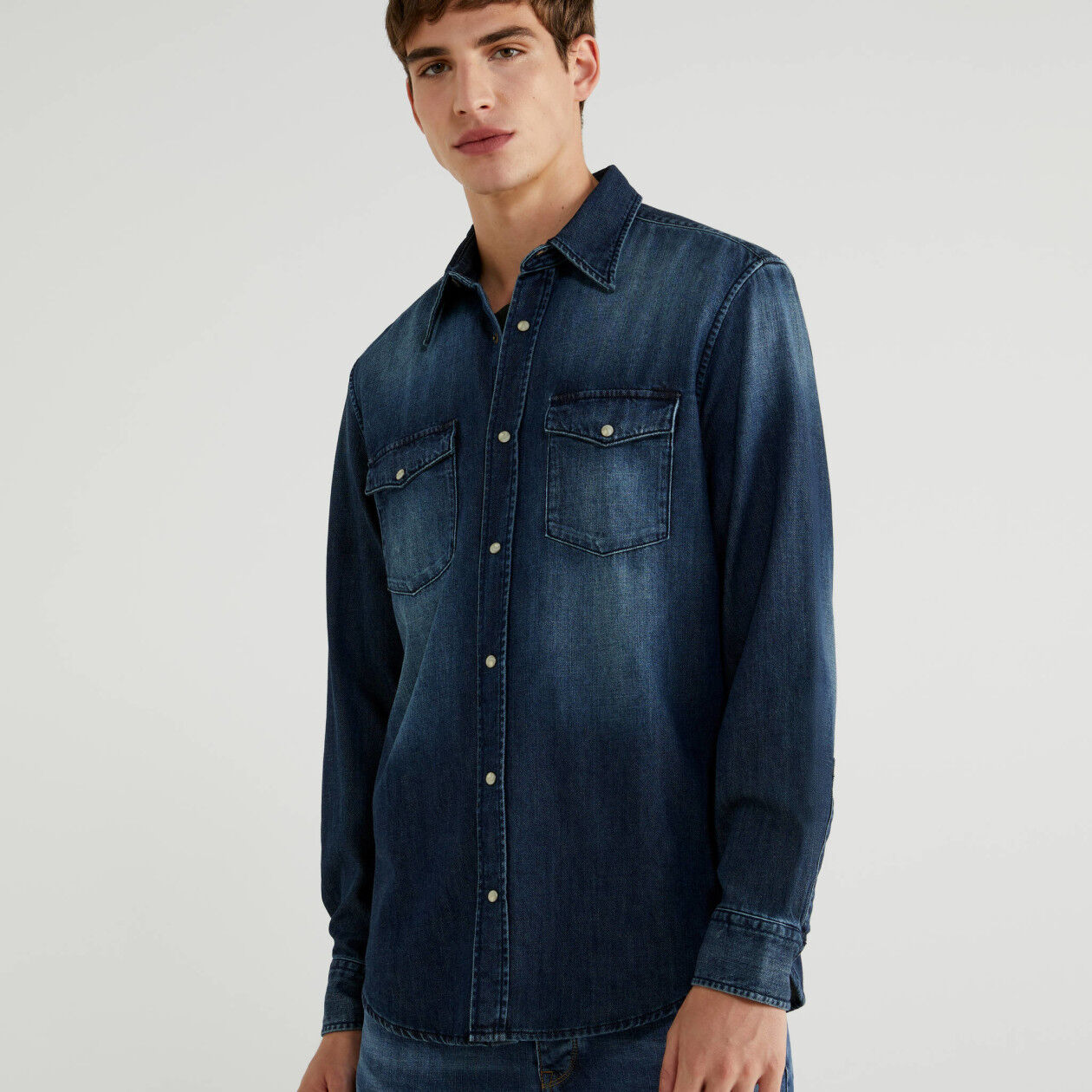 Camicia di jeans regular fit