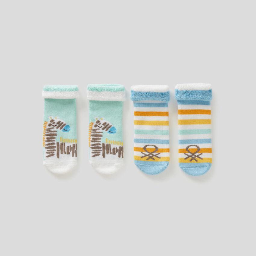 Set di calzini in spugna