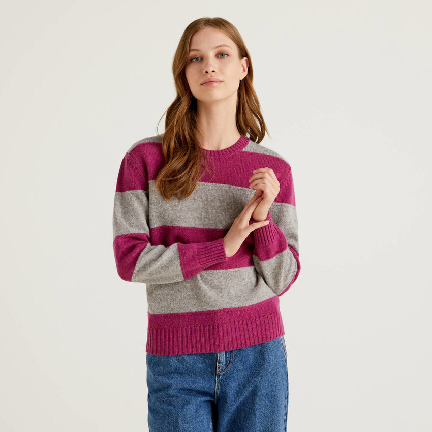 Maglia in pura lana Shetland