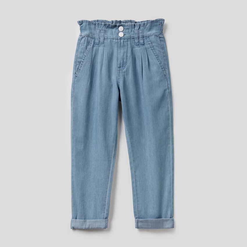 Pantaloni lunghi in 100% cotone