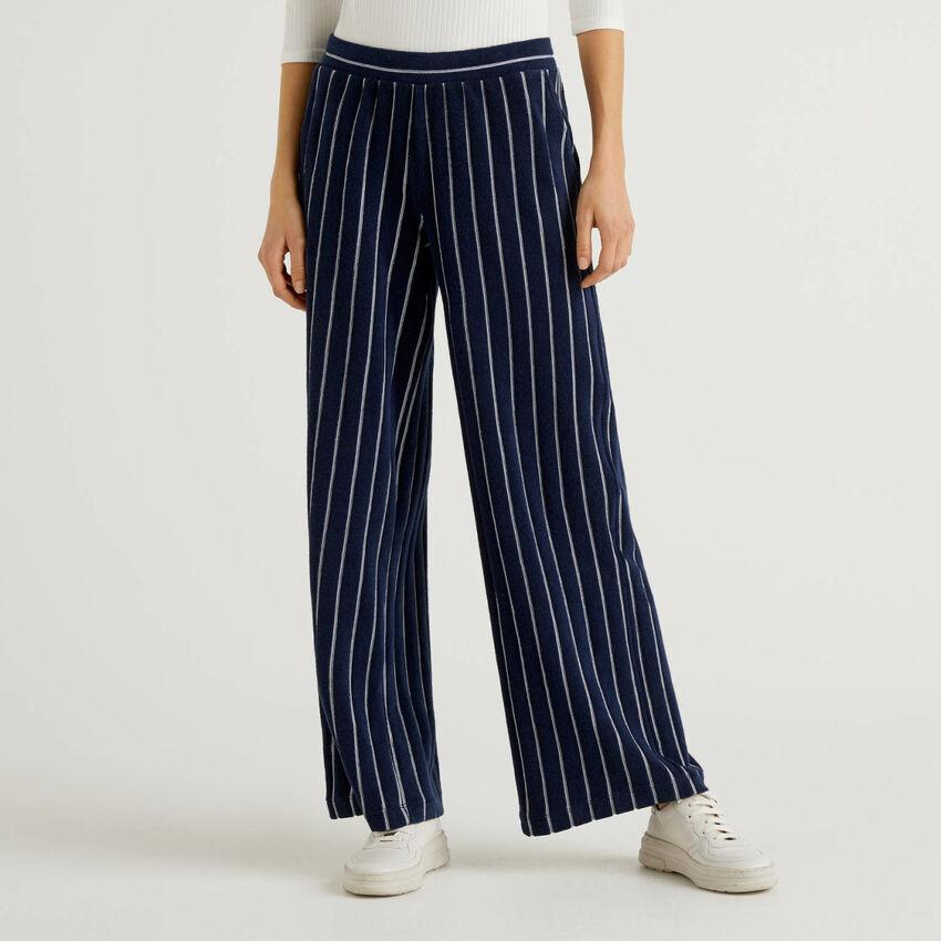 Pantaloni palazzo a righe