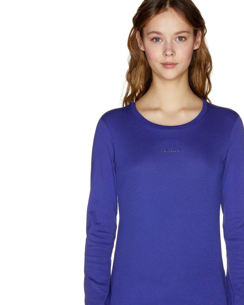 T-shirt Donna Manica Lunga Collezione 2019  0063938ad9d