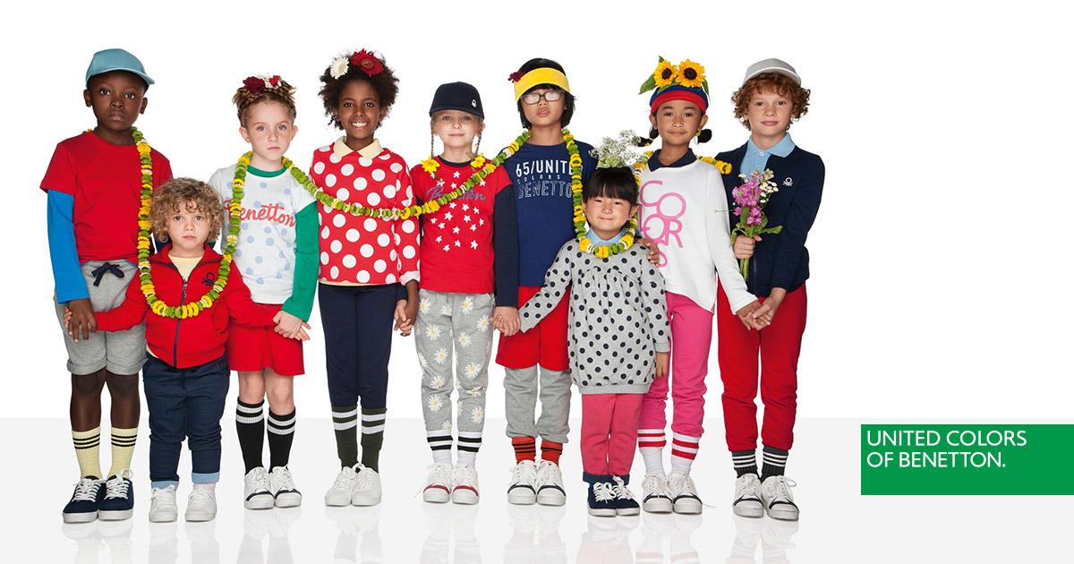 Benetton 2018 Bambino 2019 Bimbi Abbigliamento Collezione